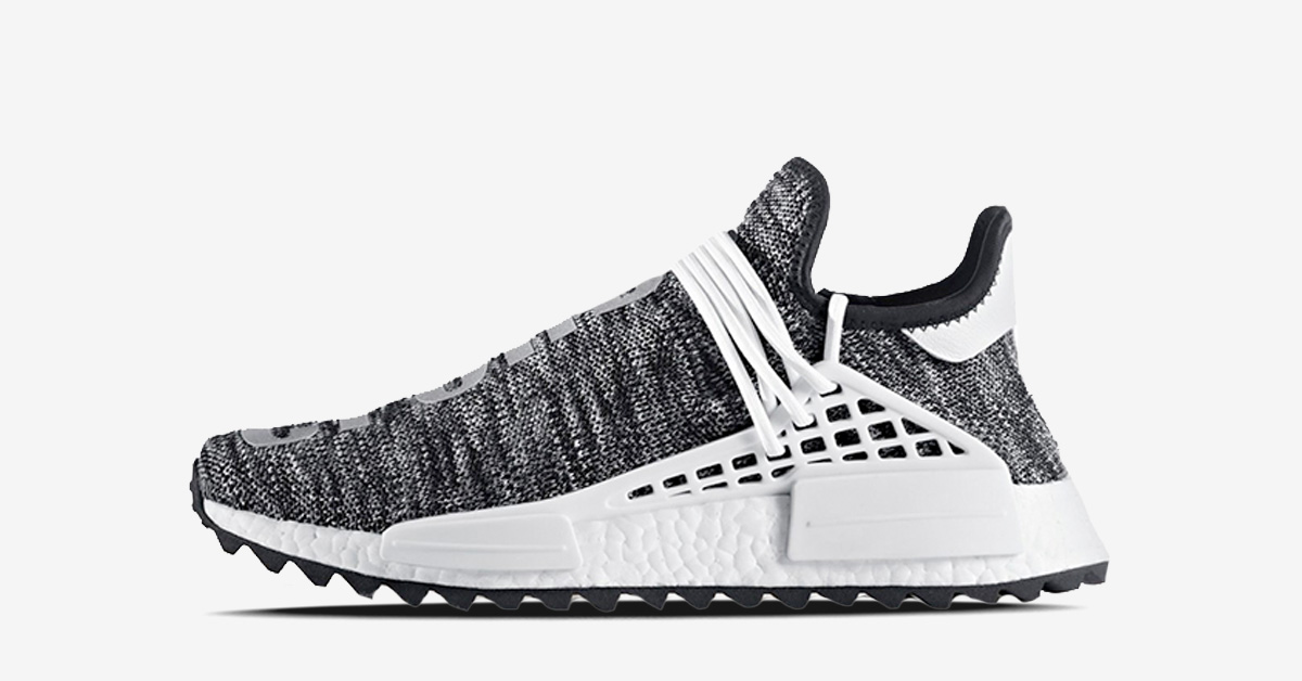 Pharrell Williams x Adidas NMD Hu Trail Black Next Level Kickz
