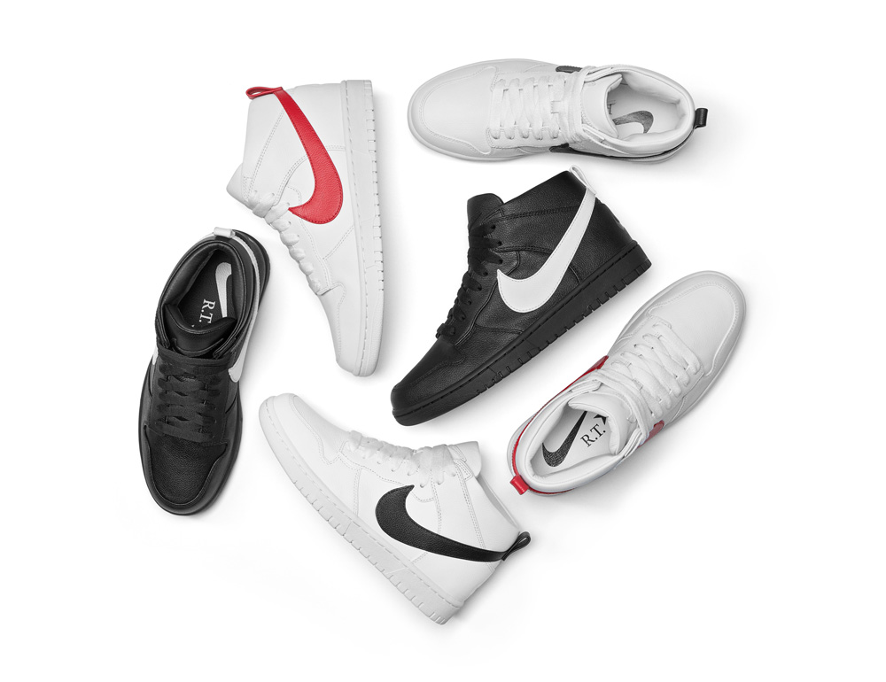 R.T. x NikeLab Dunk Lux Chukka Collection