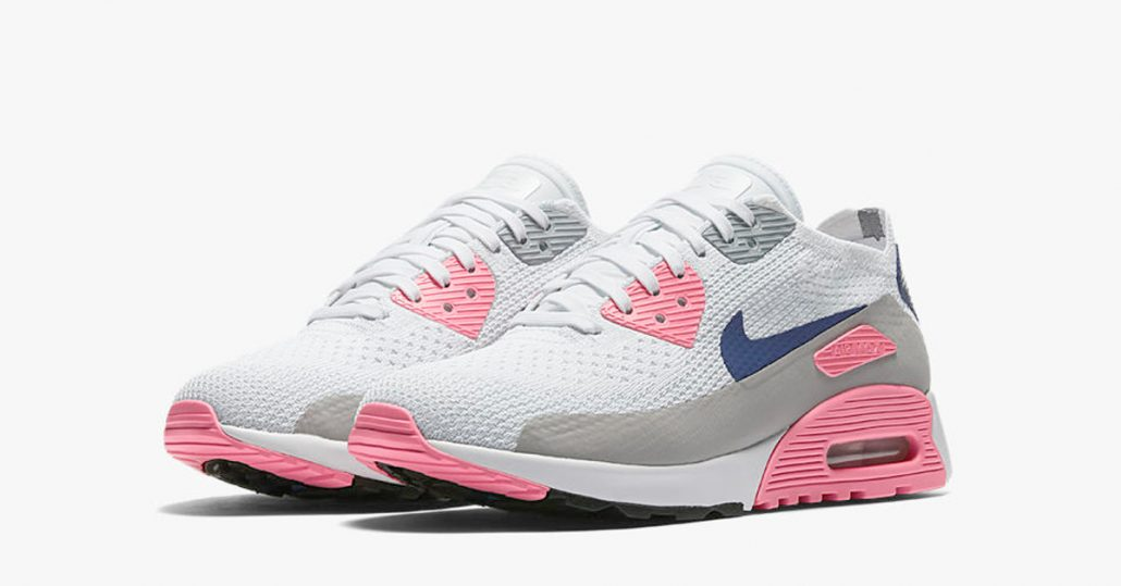 save off ff723 bec51 ... discount womens nike air max 90 ultra flyknit laser pink 228f7 c3fa7