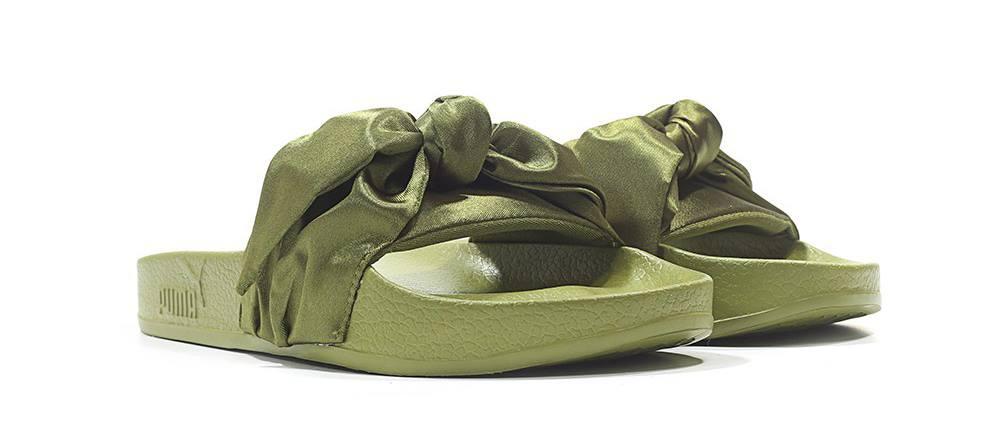 Rihanna x Puma Bow Slide Olive
