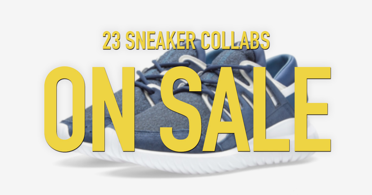 23 Great Sneaker Collabs on Sale at End Clothing