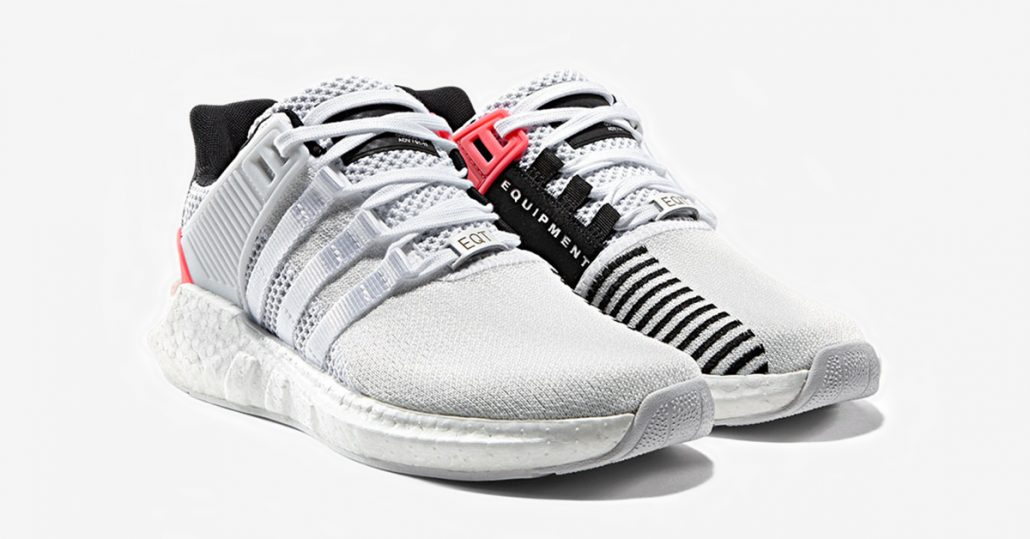 Adidas EQT Support ADV 93-17 White Turbo Red
