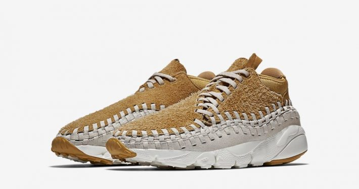 Nike Air Footscape Woven Chukka Flat Gold