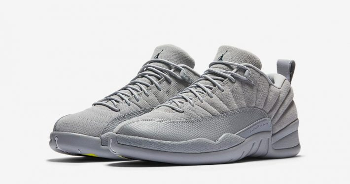 Nike Air Jordan 12 Low Wolf Grey