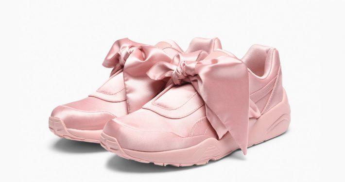 Rihanna x Puma Bow Sneaker Pink