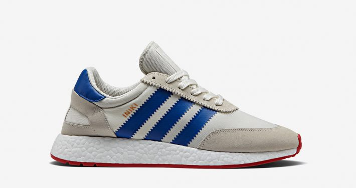 Adidas Iniki Off White Blue