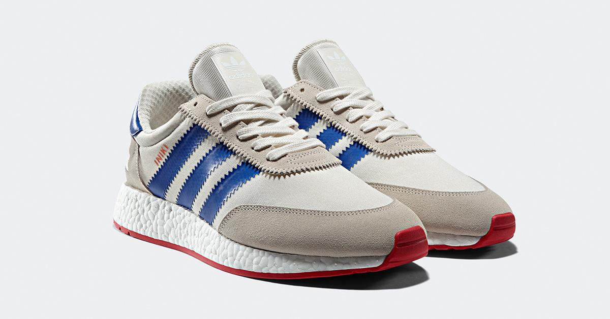 Adidas Iniki Off White Blue