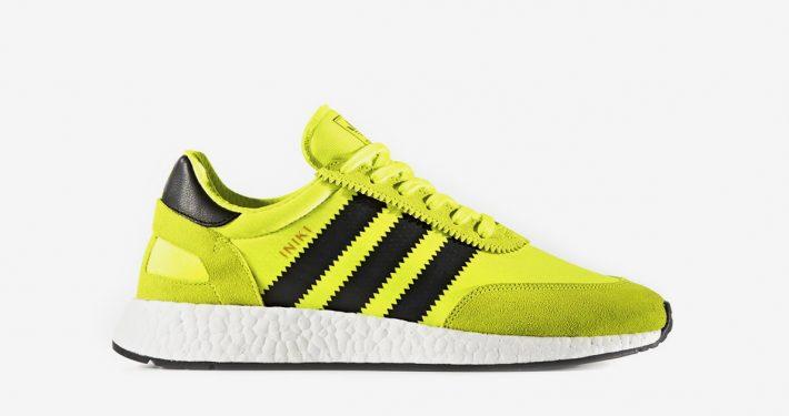 Adidas Iniki Solar Yellow