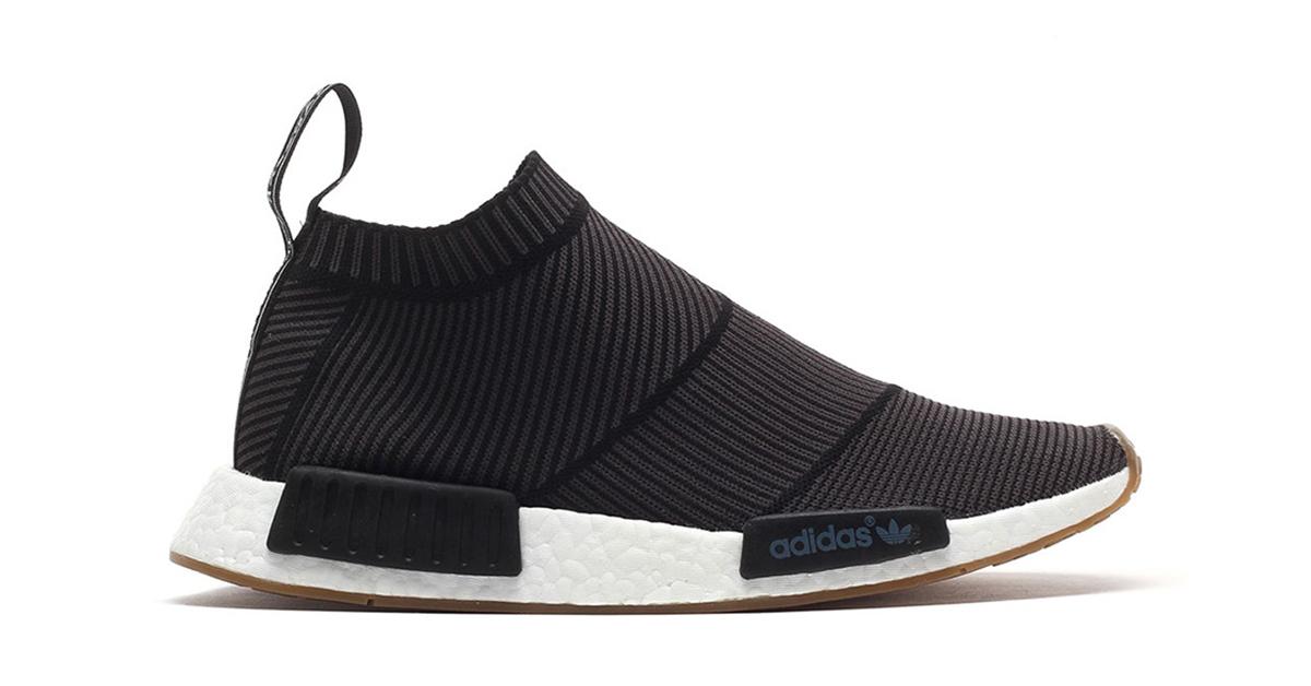 Adidas NMD CS1 Primeknit Black Gum