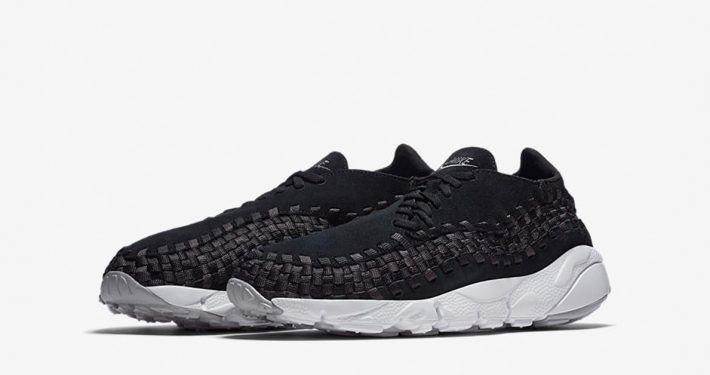 Nike Air Footscape Woven Black Wolf Grey