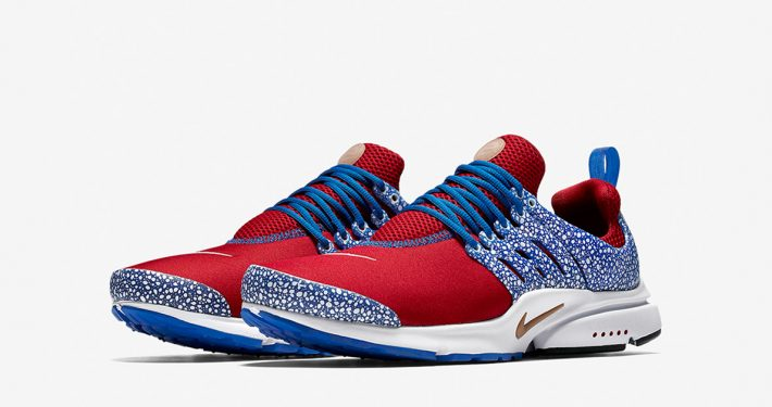 Nike Air Presto Red Blue Safari