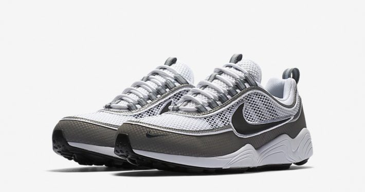 Nike Air Zoom Spiridon White Light Ash
