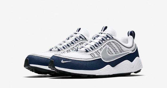 Nike Zoom Spiridon White Light Midnight