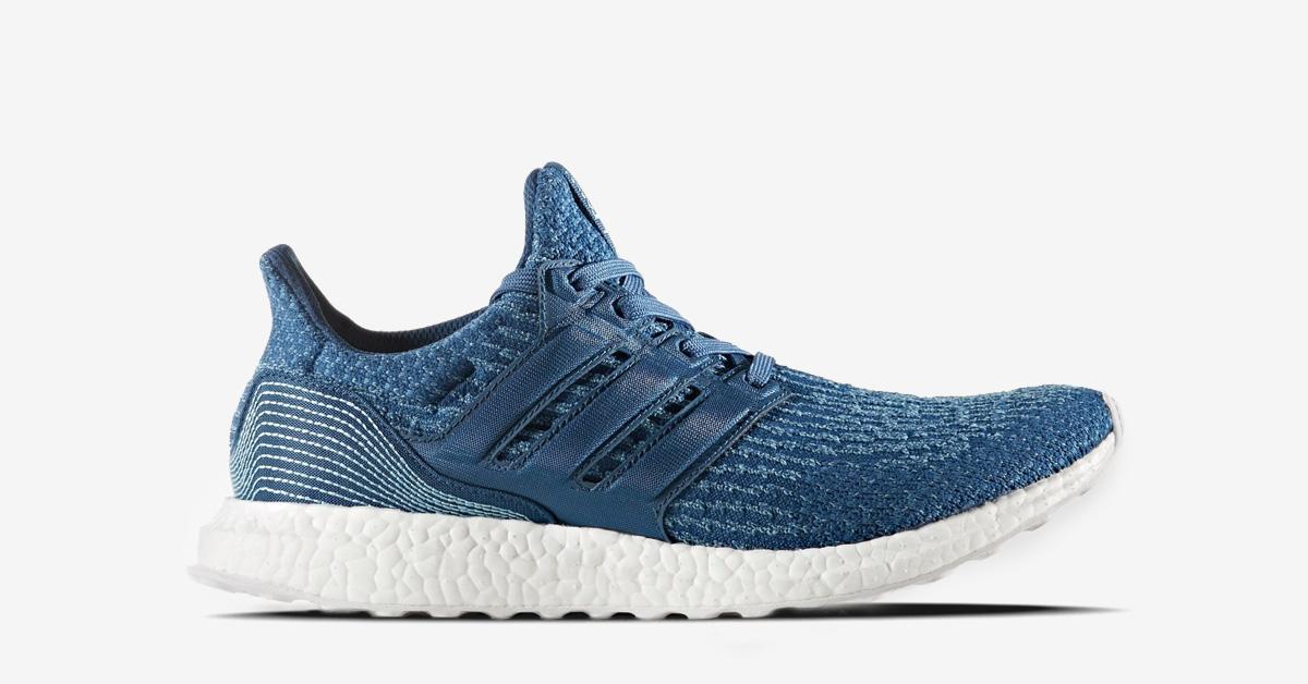 Parley x Adidas Ultra Boost Blue