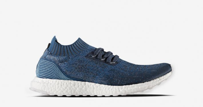 Parley x Adidas Ultra Boost Uncaged Blue