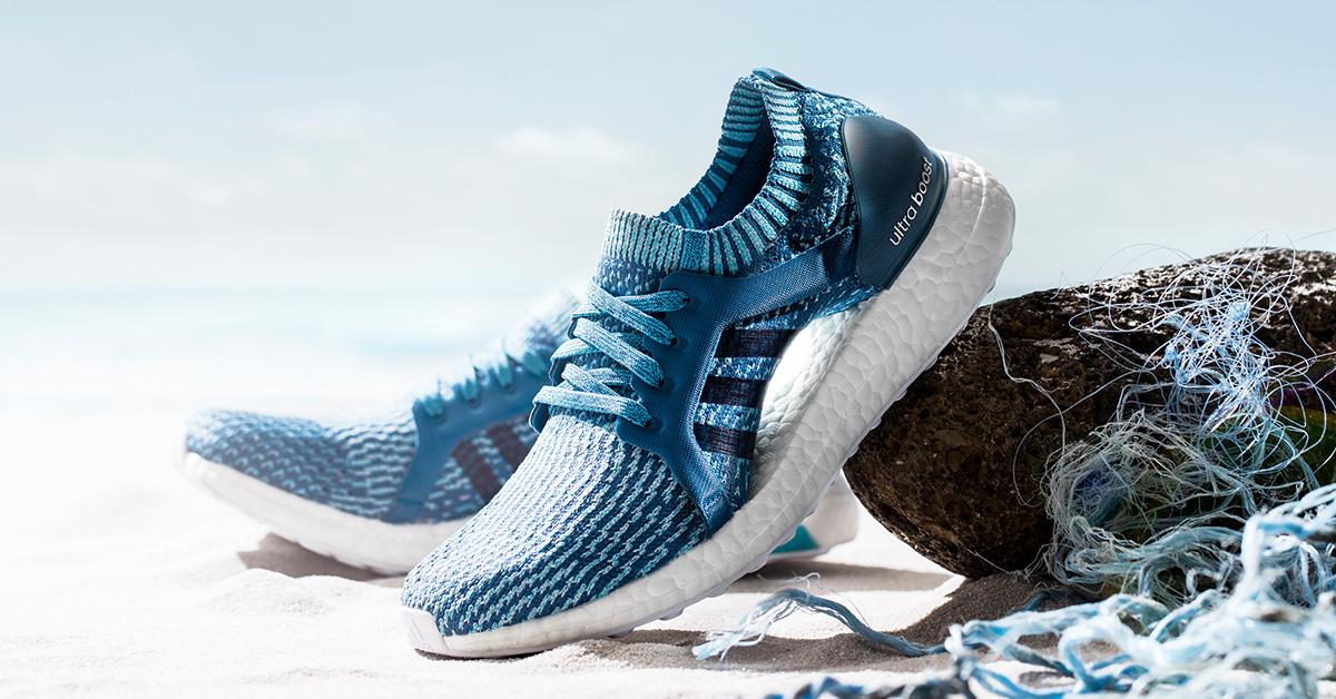 Parley x Adidas Ultra Boost X Blue