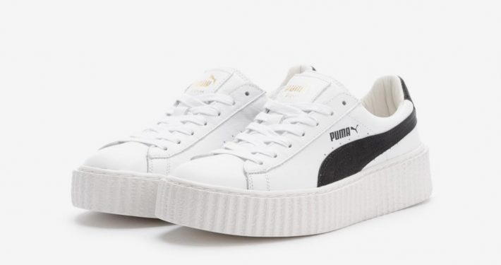Rihanna x Puma Creeper White Black