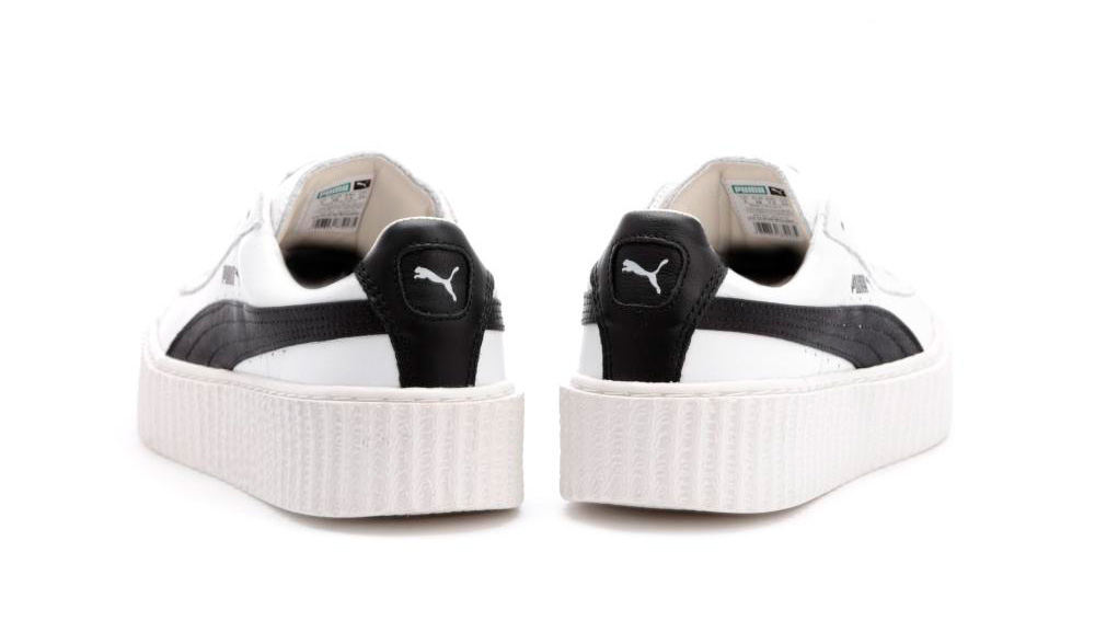 Rihanna x Puma Creeper White Black
