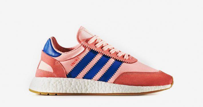 Womens Adidas Iniki Haze Coral Blue
