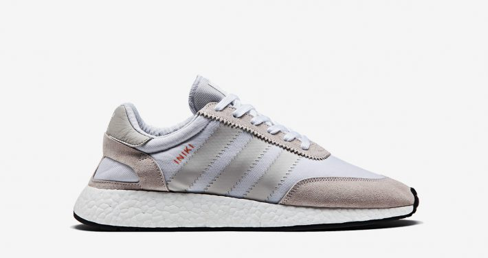 Womens Adidas Iniki White Pearl Grey