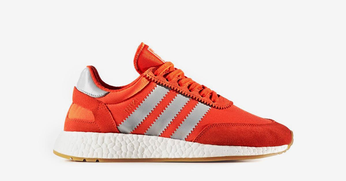 Womens Adidas Iniki Energy Red