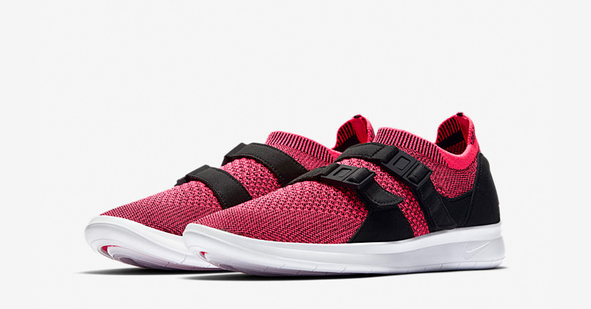 e8db167a2b0401 Womens Nike Air Sock Racer Ultra Flyknit Racer Pink - Next Level Kickz