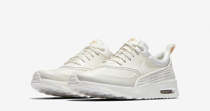 Nike Air Max Thea Premium Summit White Gold