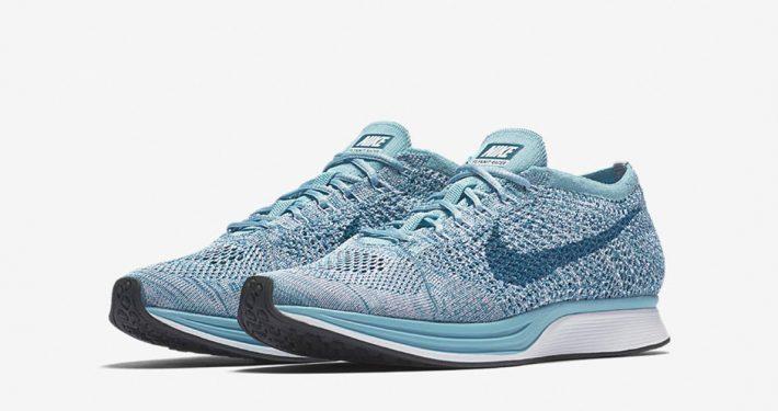 Nike Flyknit Racer Macarone Blueberry
