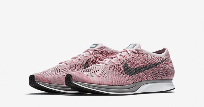 Nike Flyknit Racer Macarone Strawberry