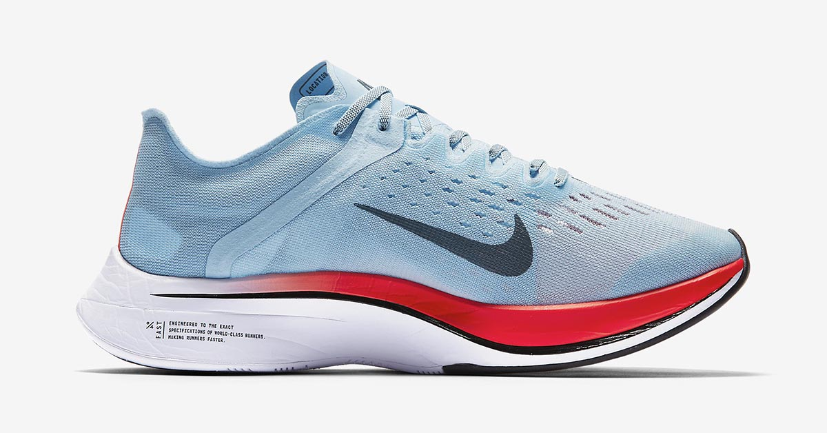 Nike Zoom VaporFly 4% Ice Blue