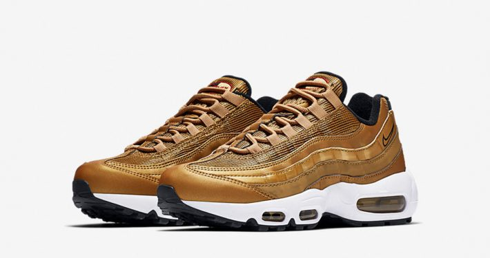 Womens Nike Air Max 95 Metallic Gold