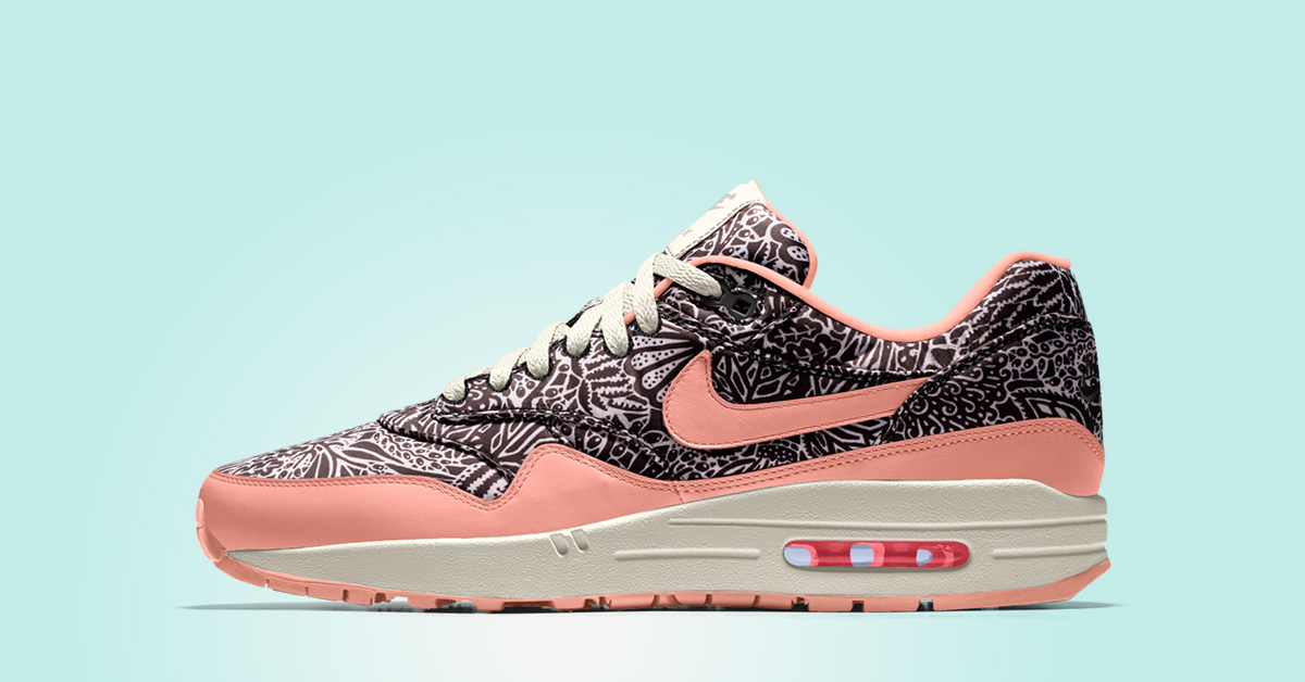 Liberty London x Air Max 1 iD