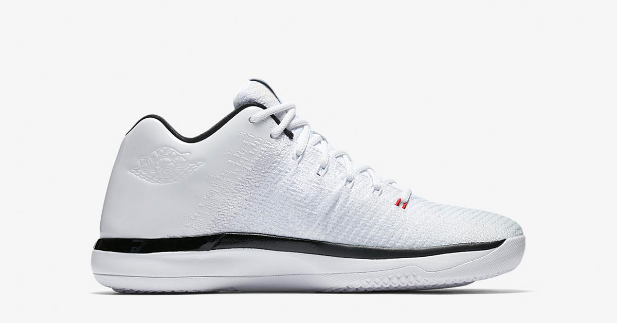 Nike Air Jordan 31 Low White Black University Red
