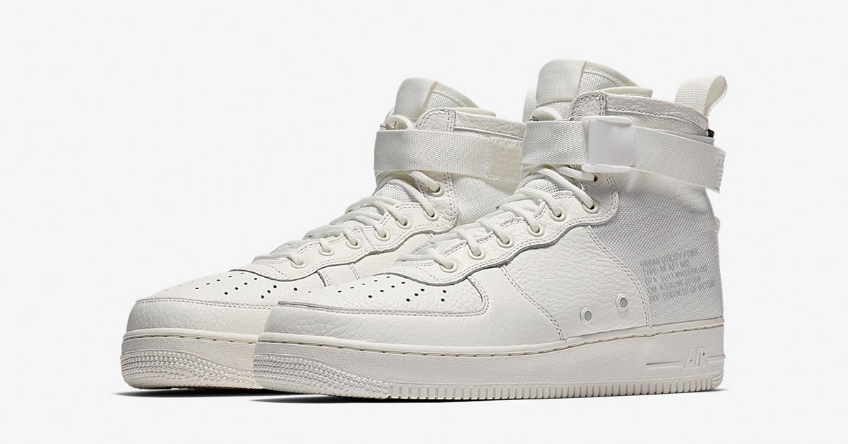 Nike Special Field Air Force 1 Mid Triple Ivory
