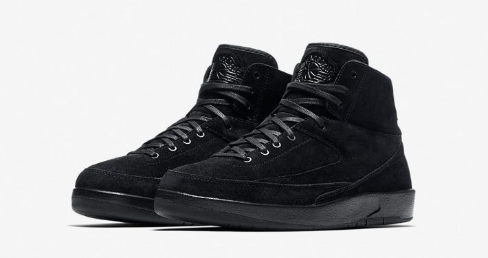 Nike Air Jordan 2 Decon Black