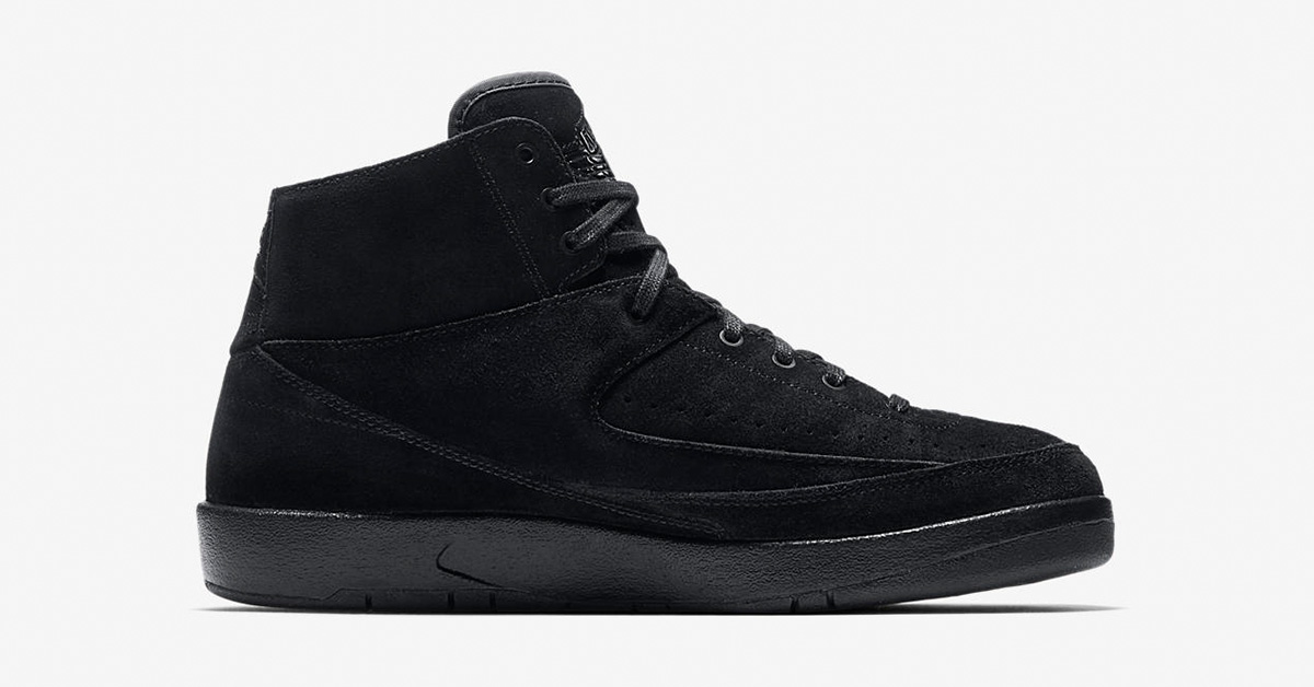 Nike Air Jordan 2 Decon Black