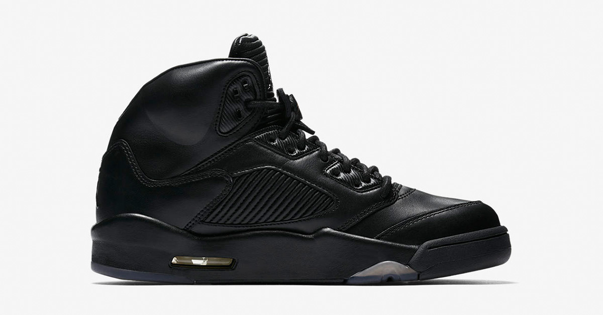 Nike Air Jordan 5 Retro Premium Black