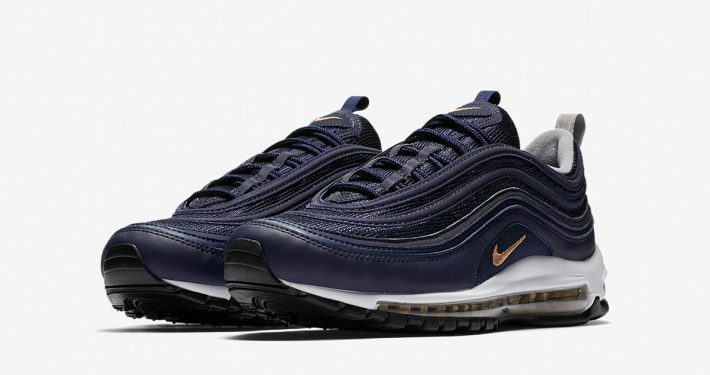 Nike Air Max 97 Midnight Navy Metallic Gold