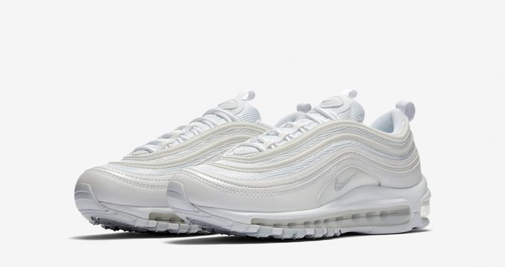 Womens Nike Air Max 97 White Pure Platinum