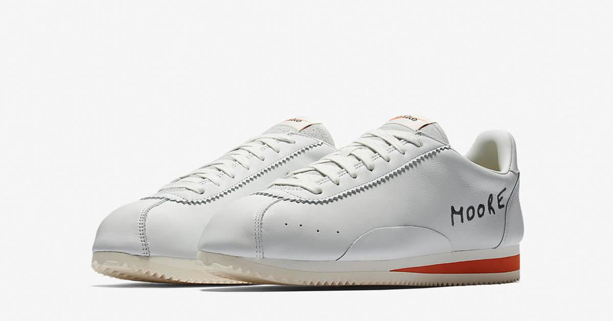 Nike Classic Cortez KM Off White Terra Orange