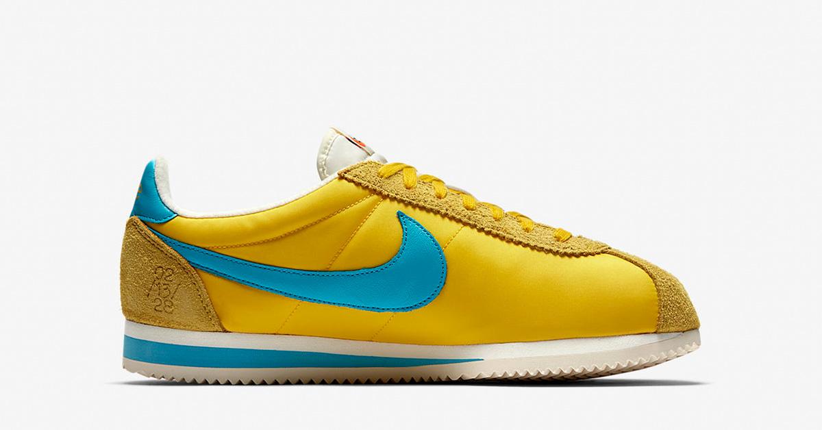 Nike Classic Cortez KM Tour Yellow
