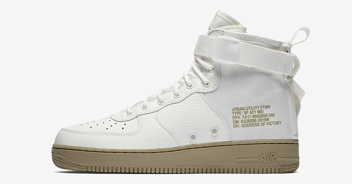 Nike Special Field Air Force 1 Mid Ivory Neutral Olive
