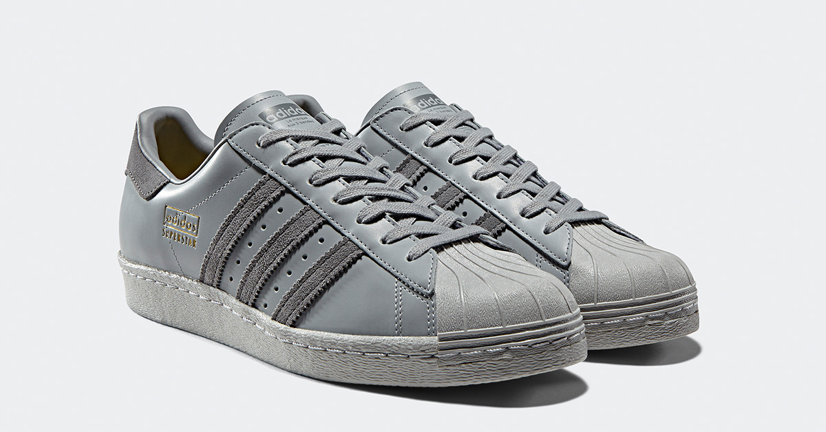 Adidas Superstar 80s Grey