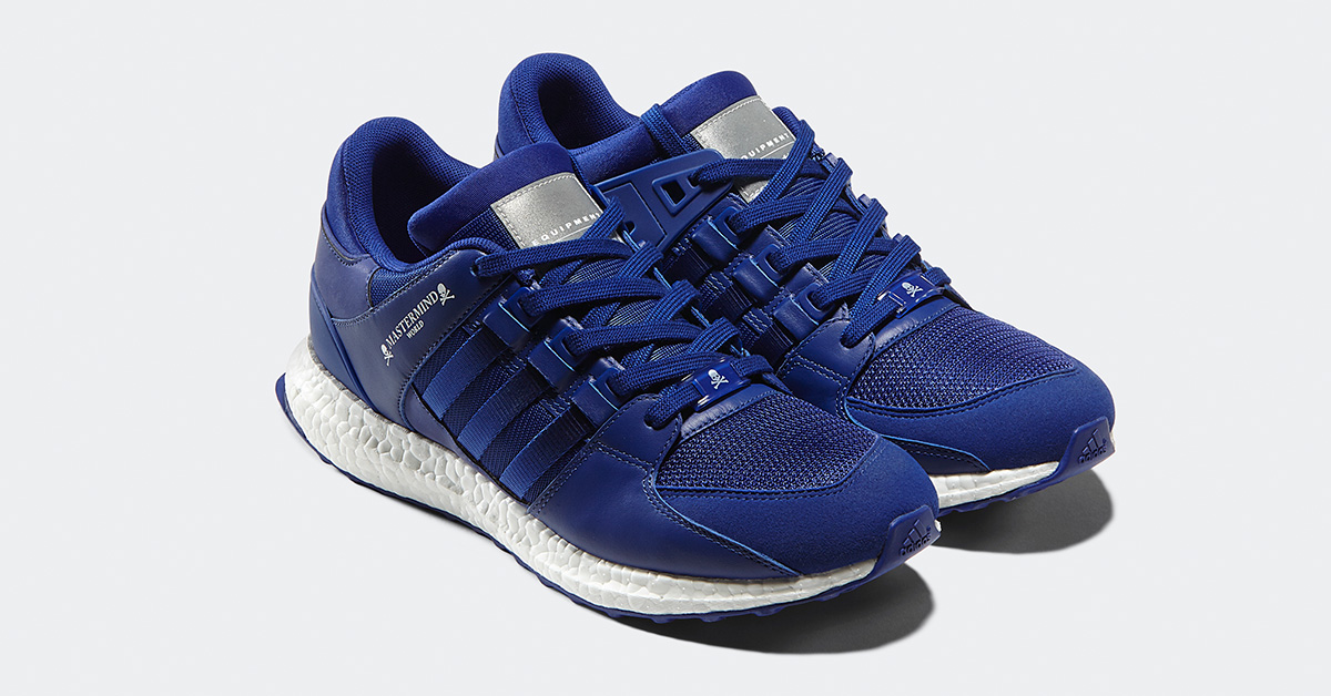 Mastermind x Adidas EQT Support Ultra Blue