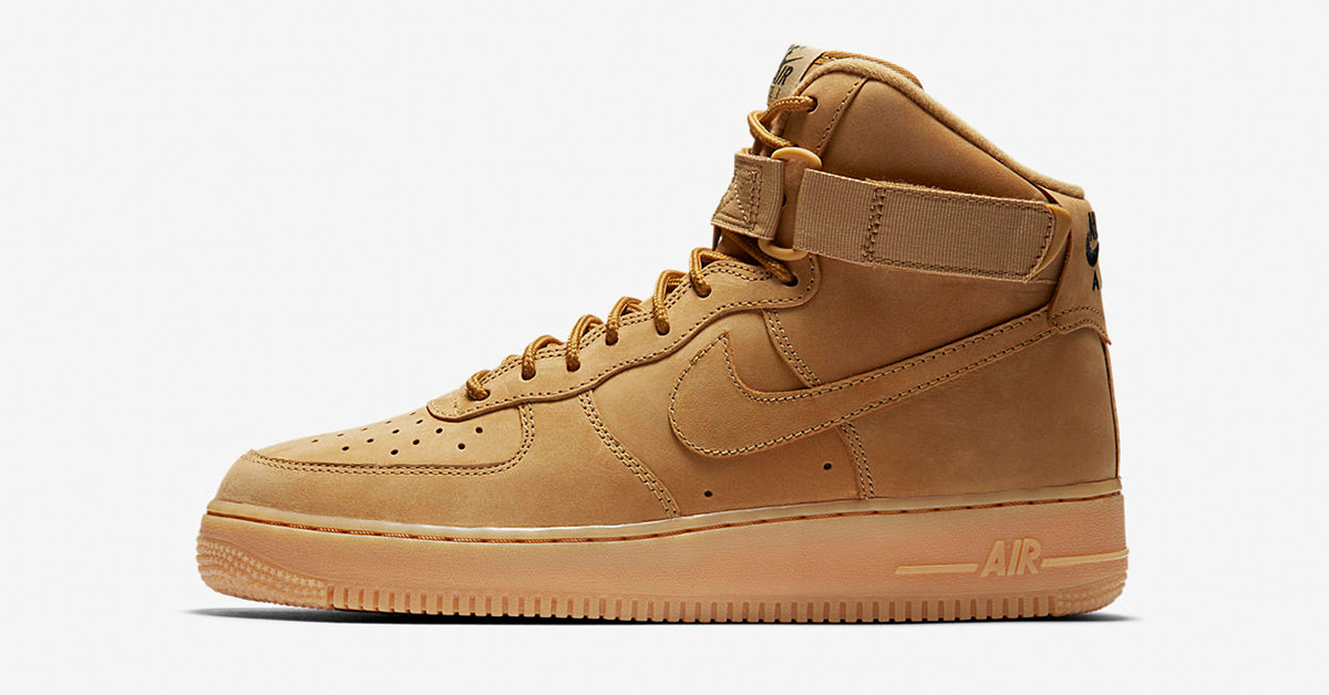 Nike Air Force 1 High Workboot Flax