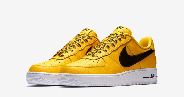 Nike Air Force 1 Low NBA Amarillo Black White