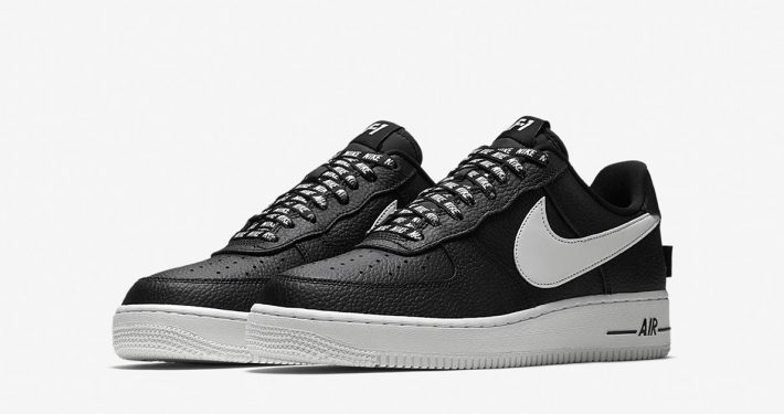 Nike Air Force 1 Low NBA Black White
