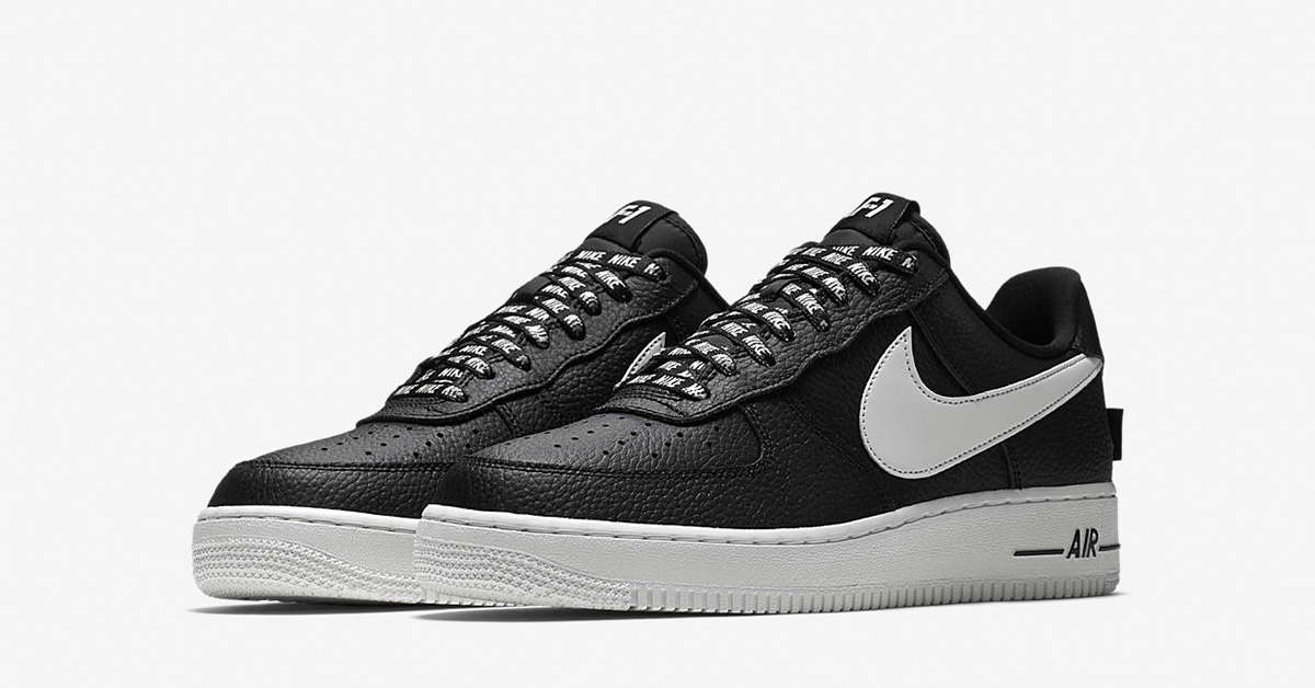 Nike Air Force 1 Low NBA Black White