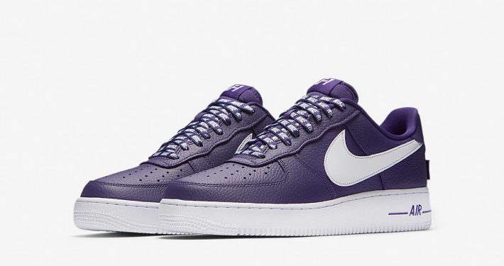 Nike Air Force 1 Low NBA Court Purple White