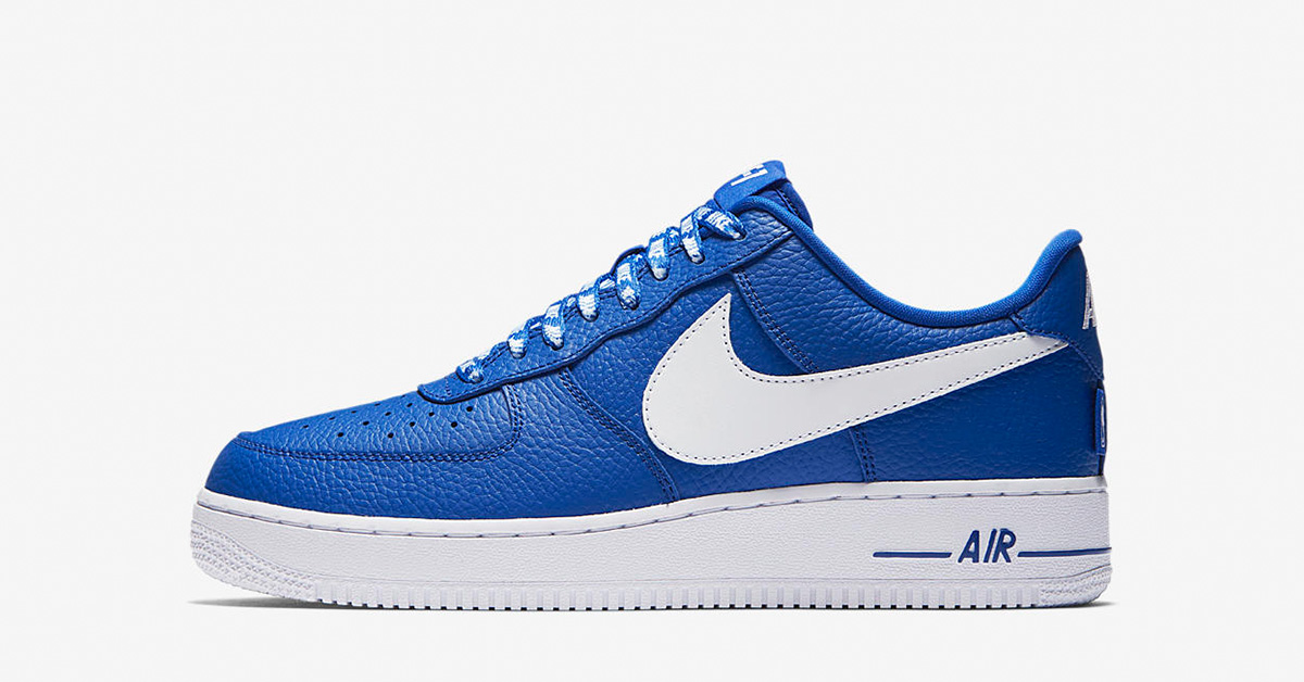 Nike Air Force 1 Low NBA Game Royal White